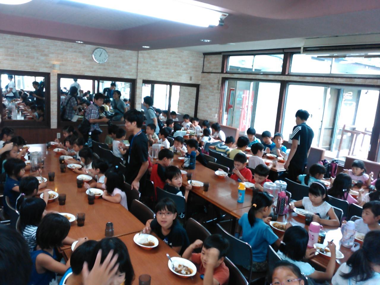 キャンプ一日目・昼食1