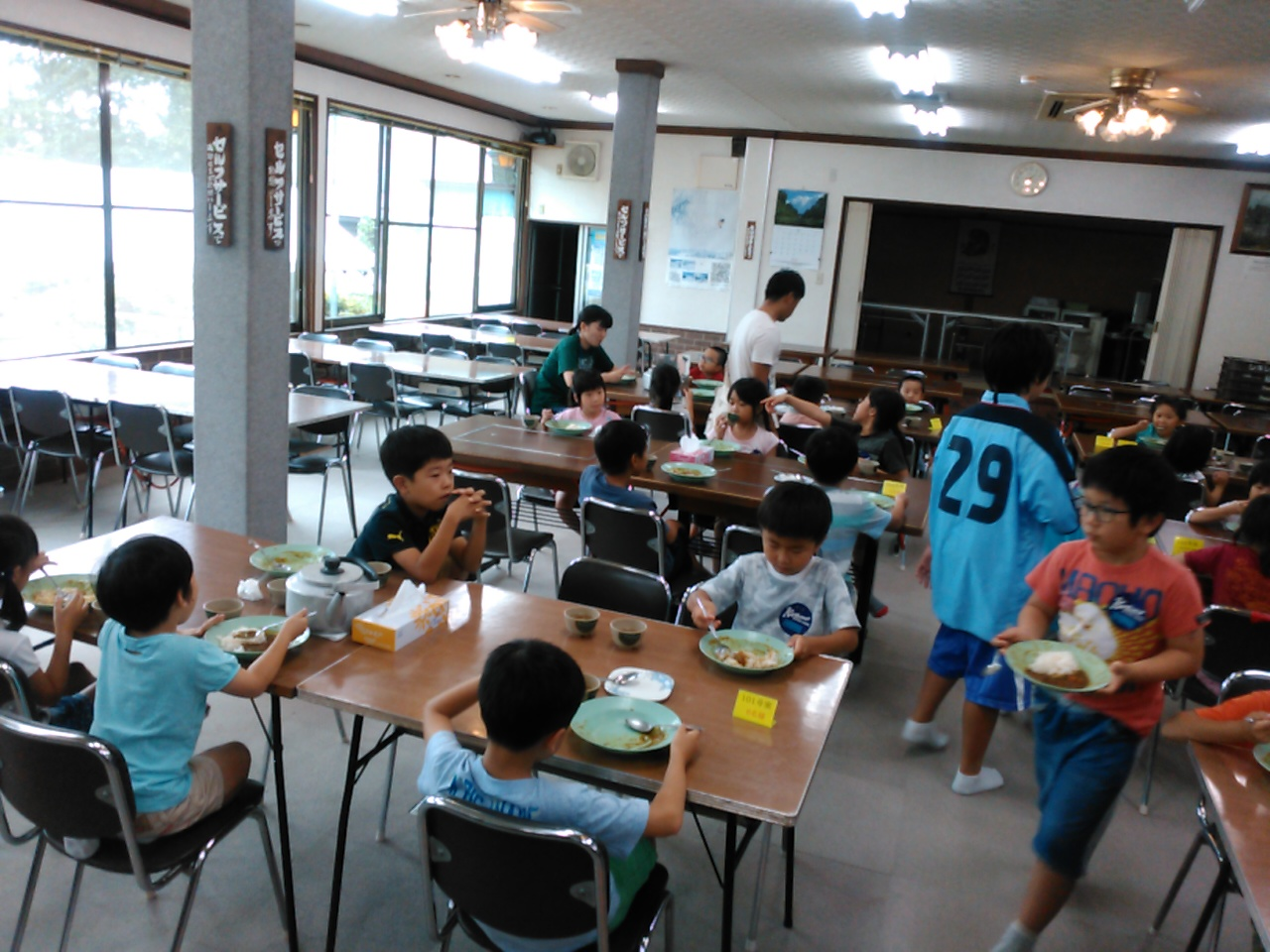 キャンプ一日目・昼食3