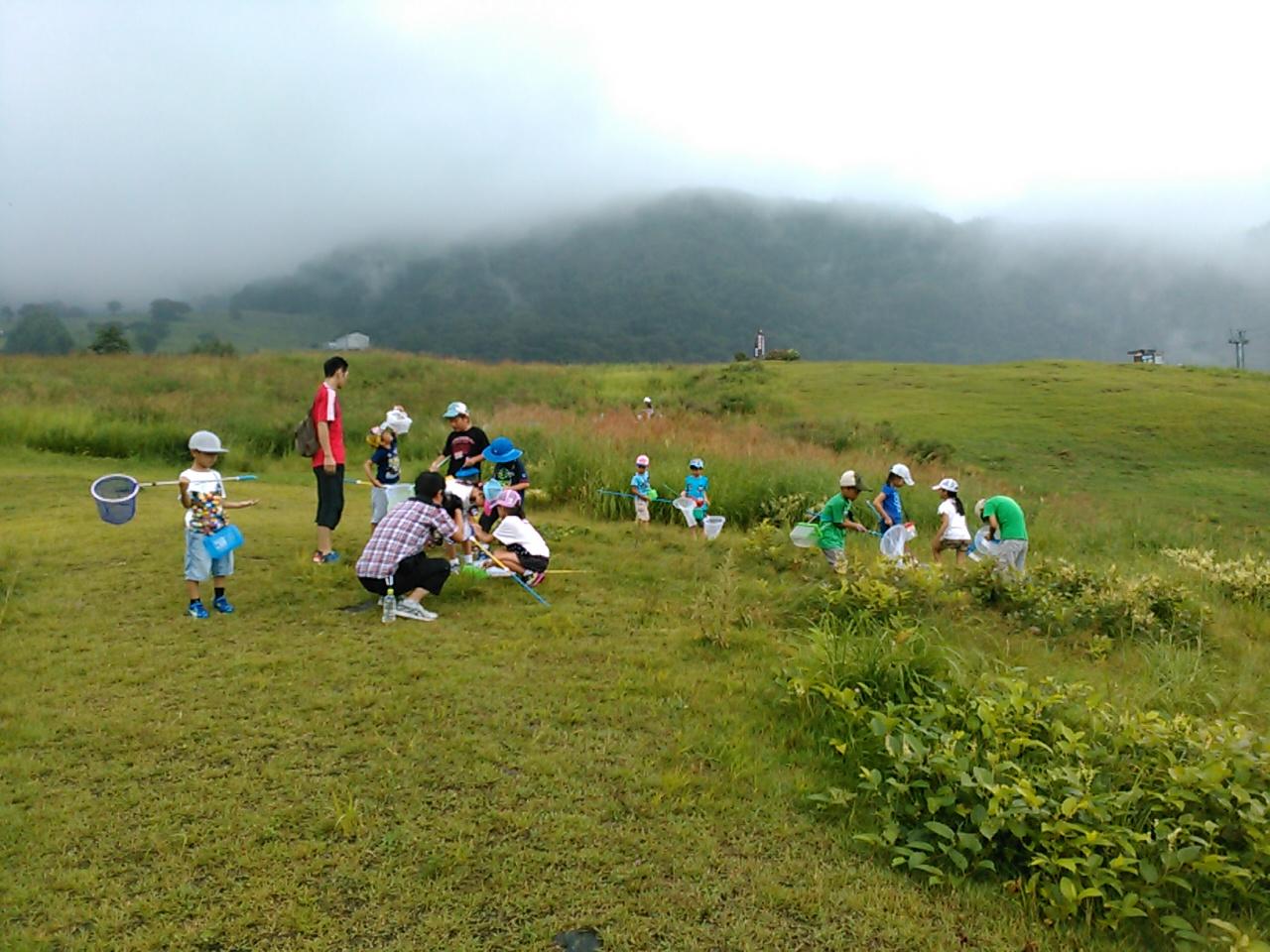 キャンプ一日目・山遊び1