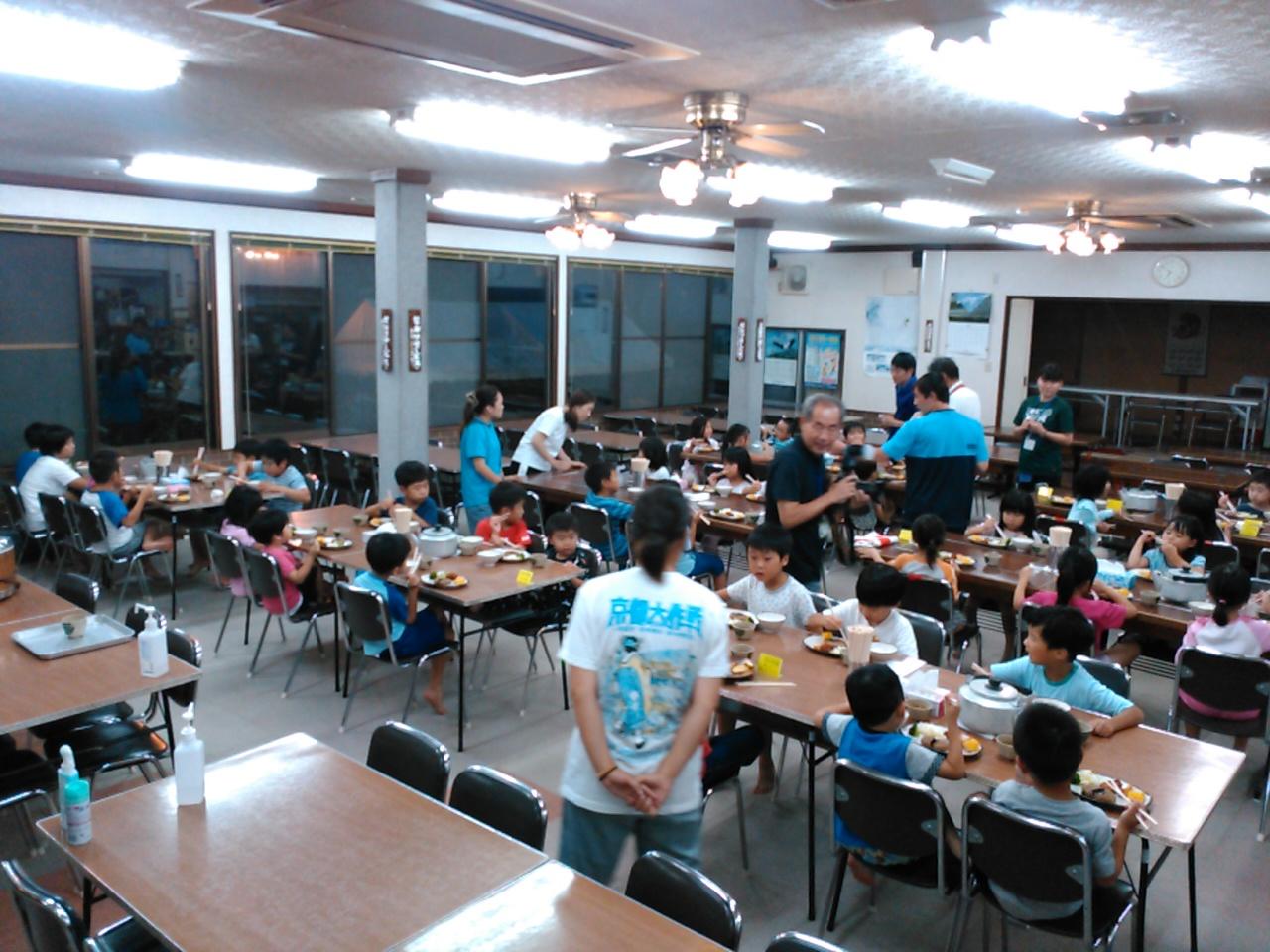 キャンプ一日目・夕食1
