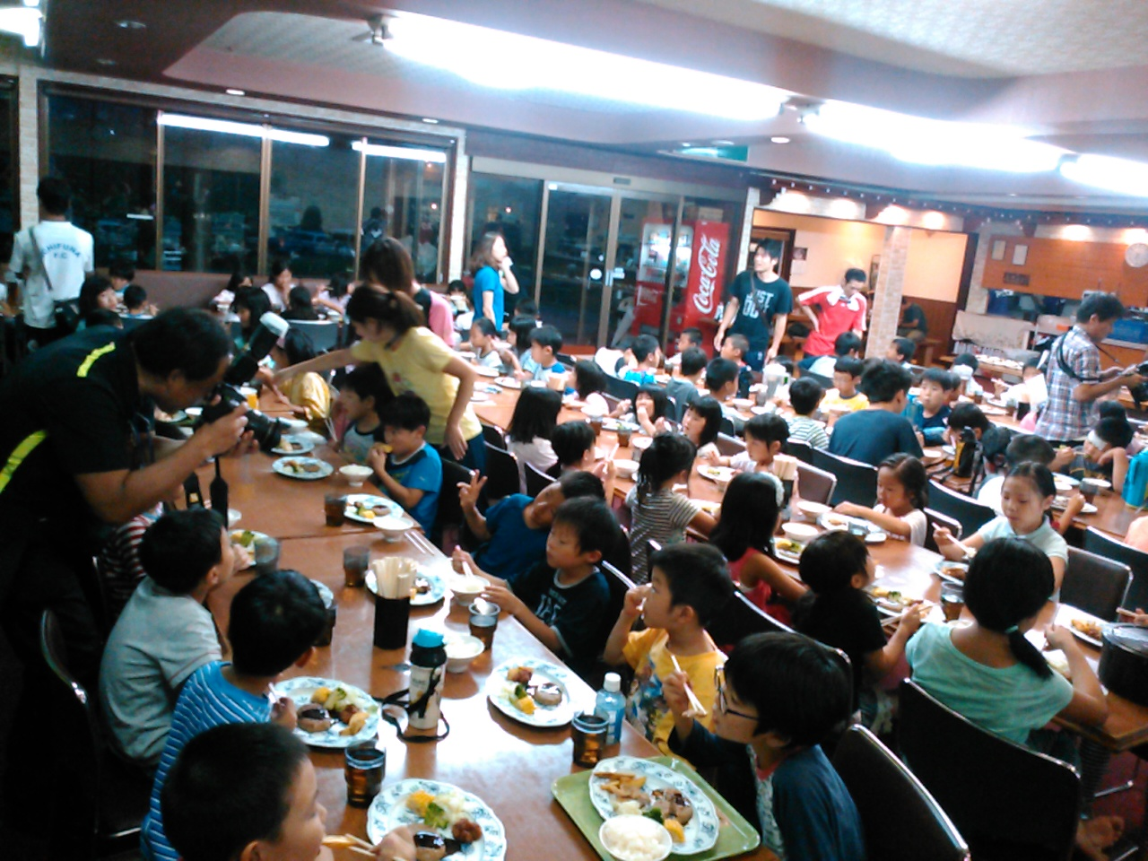 キャンプ一日目・夕食2