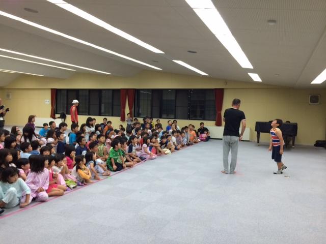 キャンプ二日目・かくし芸大会2