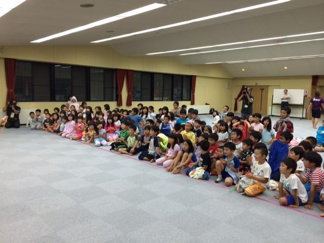 キャンプ二日目・かくし芸大会1