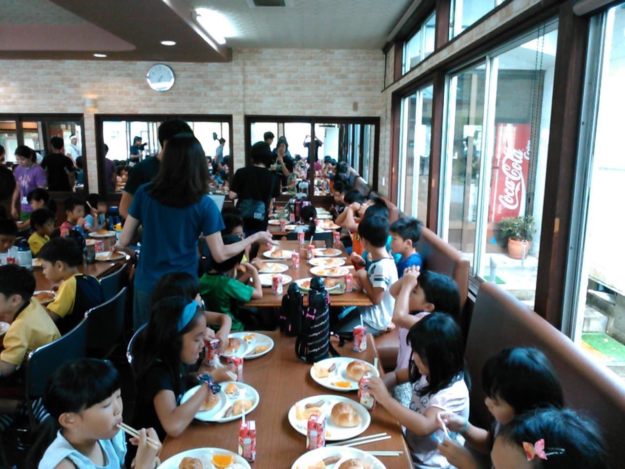 キャンプ二日目・朝食2