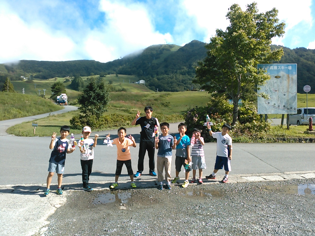 キャンプ二日目・山遊び1