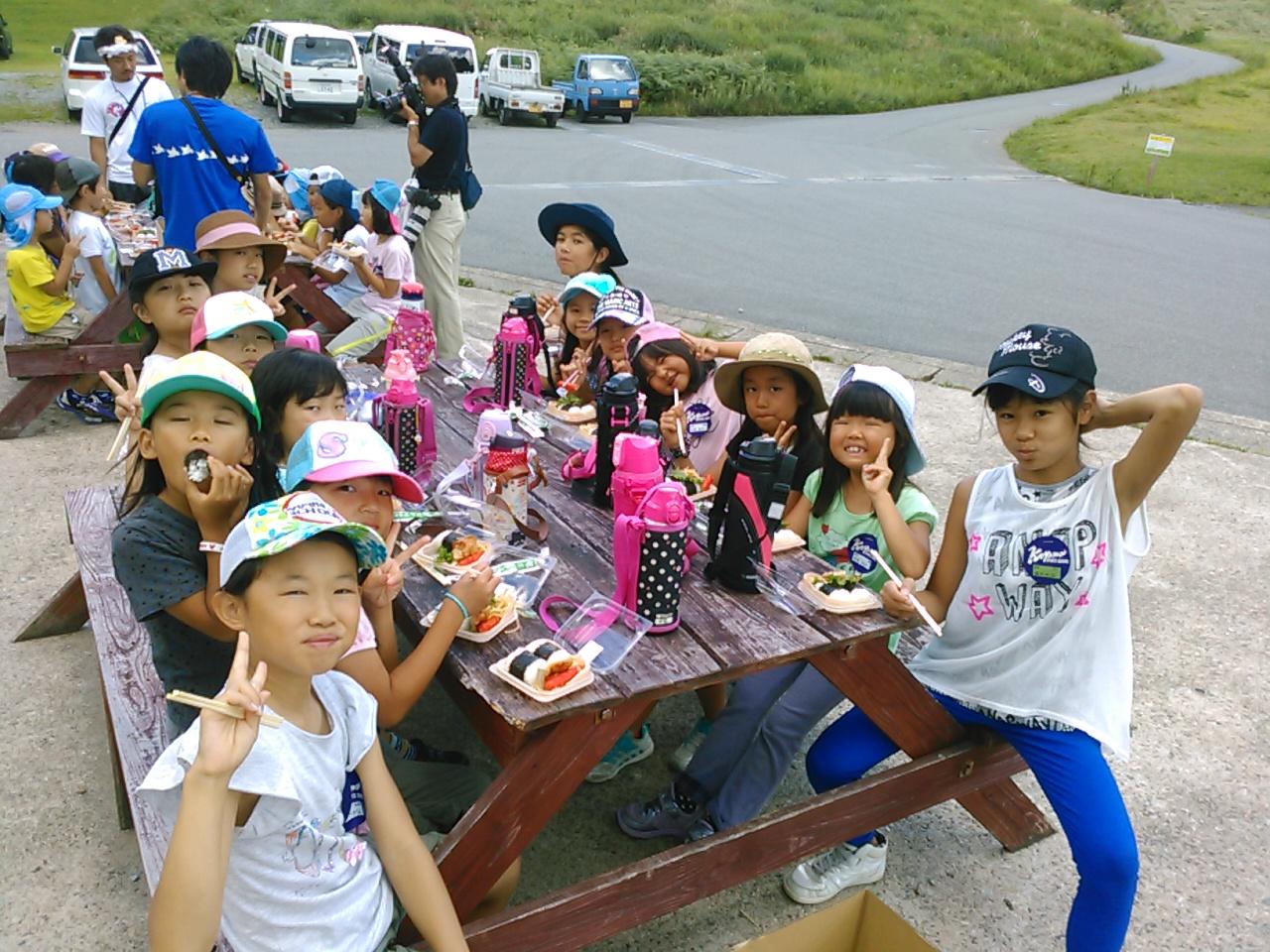 キャンプ二日目・昼食1