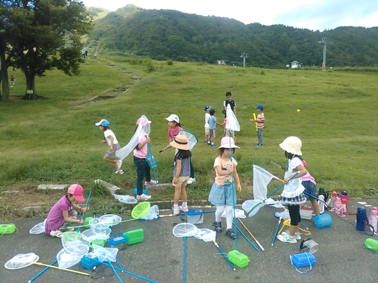 キャンプ二日目午後・山遊び3