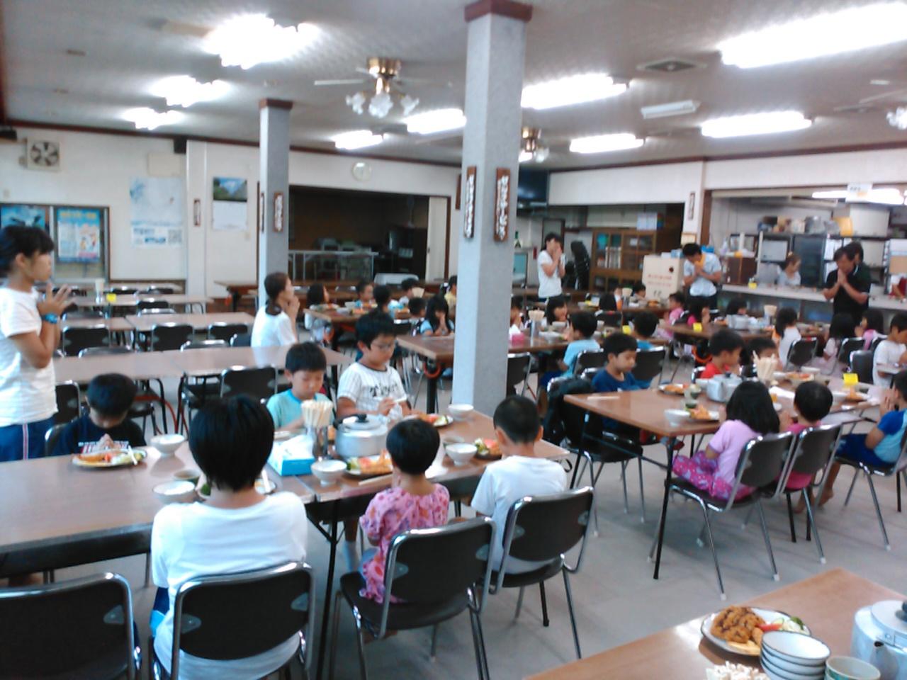 キャンプ二日目・夕食1