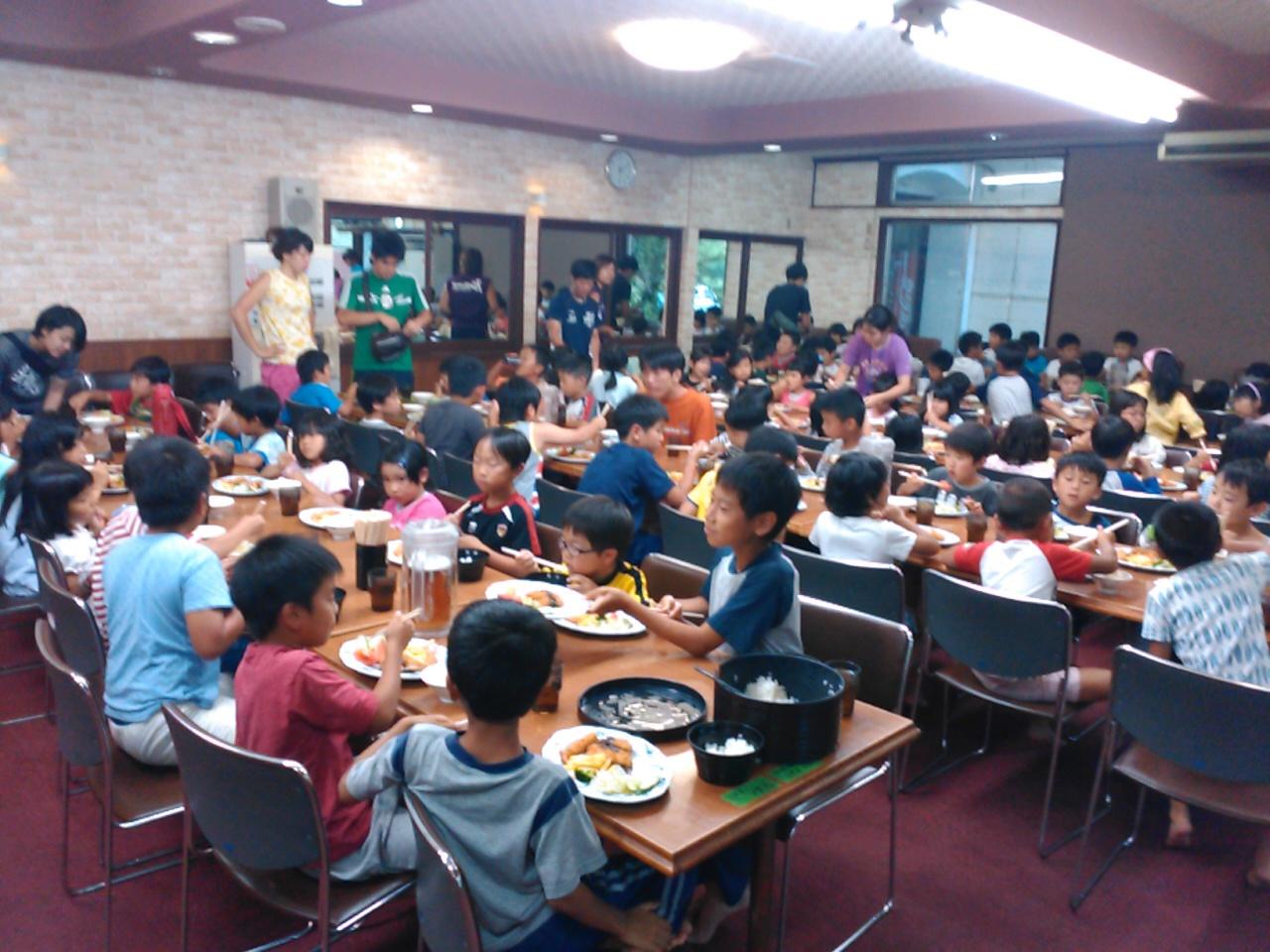 キャンプ二日目・夕食2
