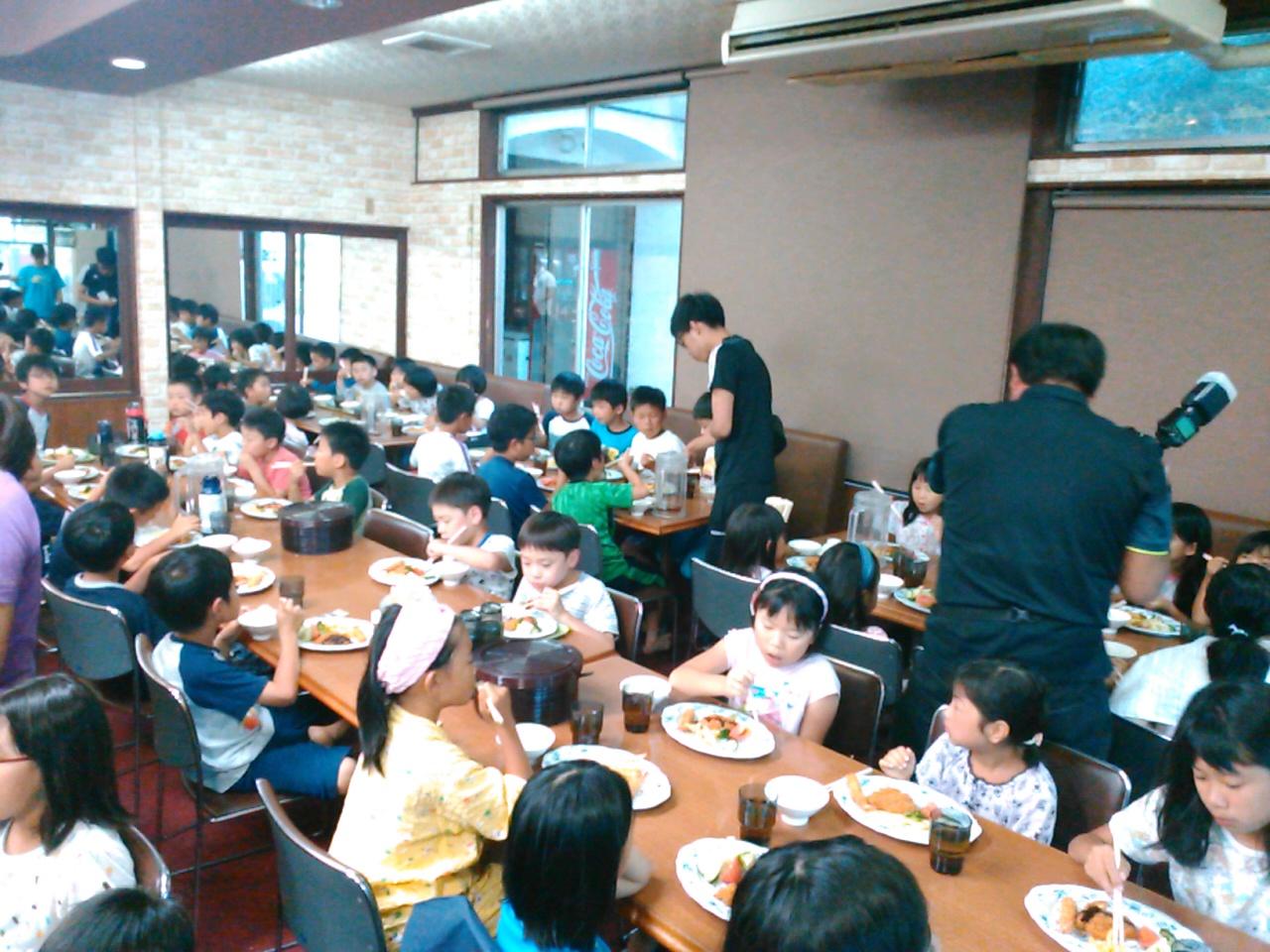 キャンプ二日目・夕食5