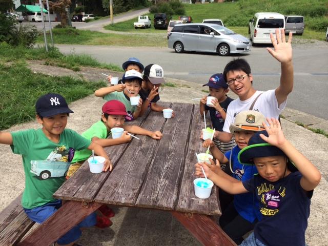 キャンプ三日目・山遊び9