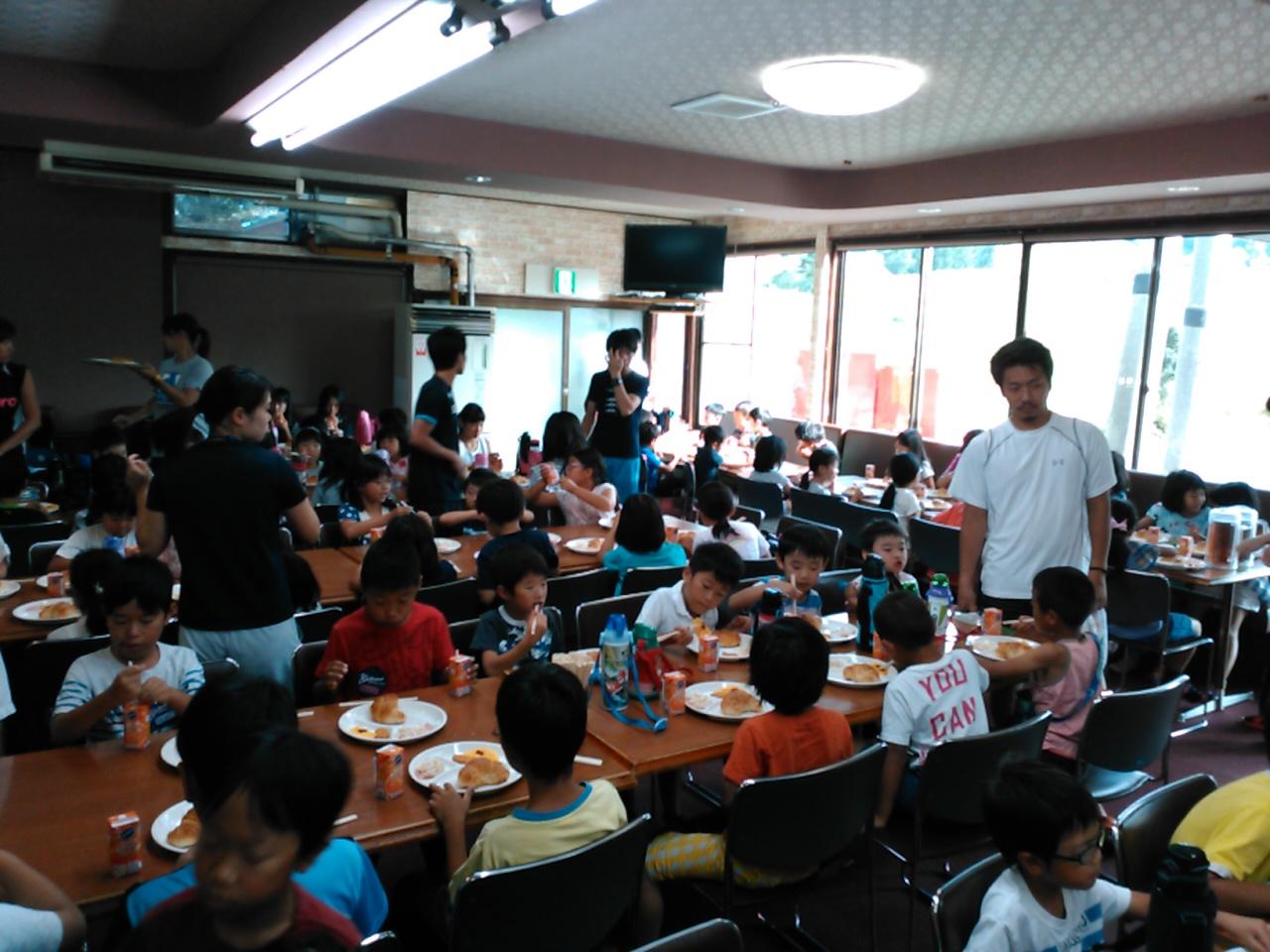 キャンプ三日目・朝食1