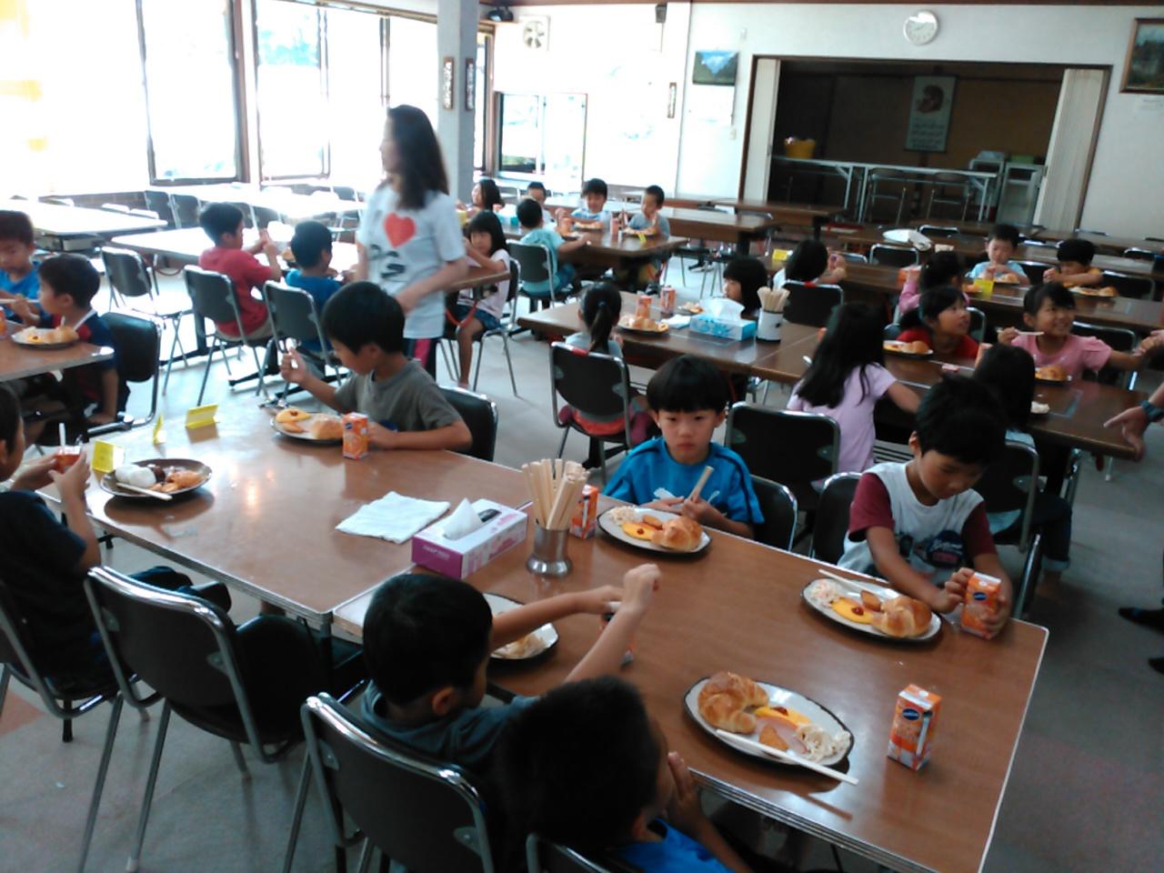 キャンプ三日目・朝食3