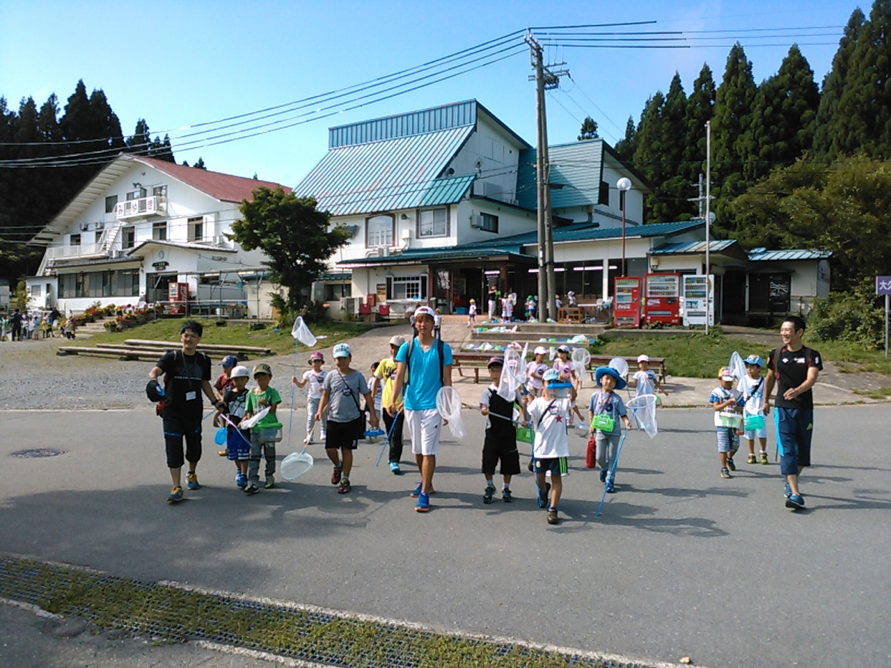 キャンプ三日目・山遊び1