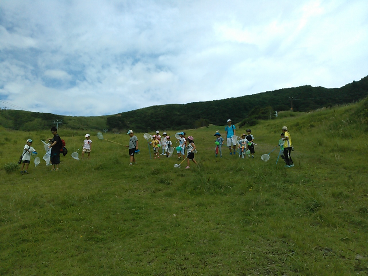 キャンプ三日目・山遊び5