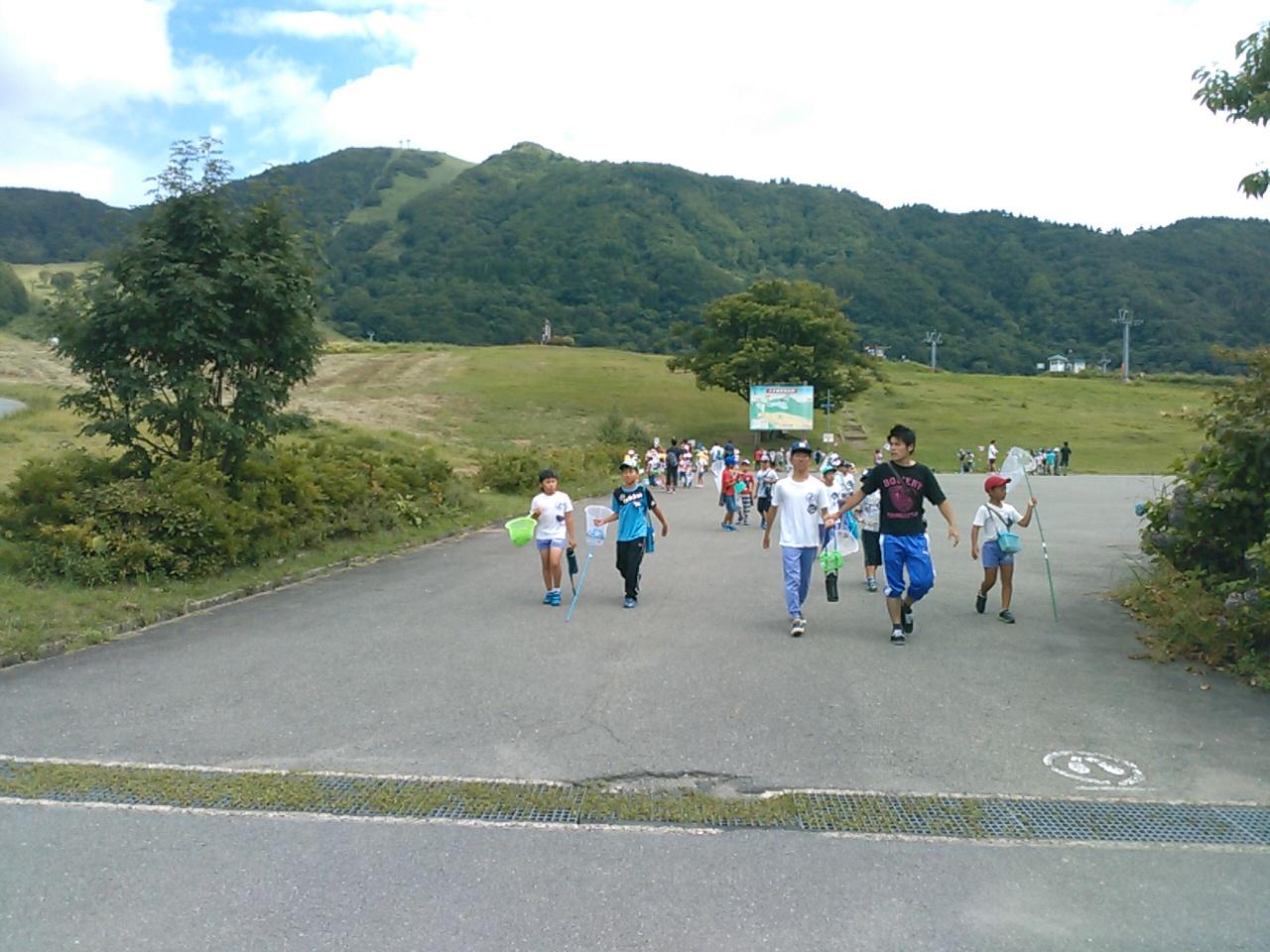 キャンプ三日目・山遊び終了
