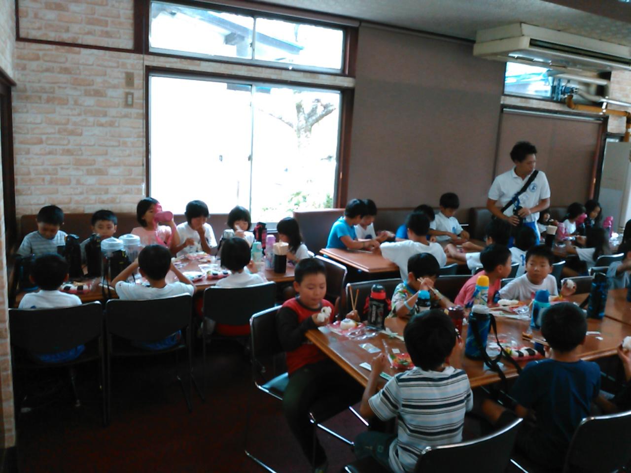 キャンプ三日目・昼食1
