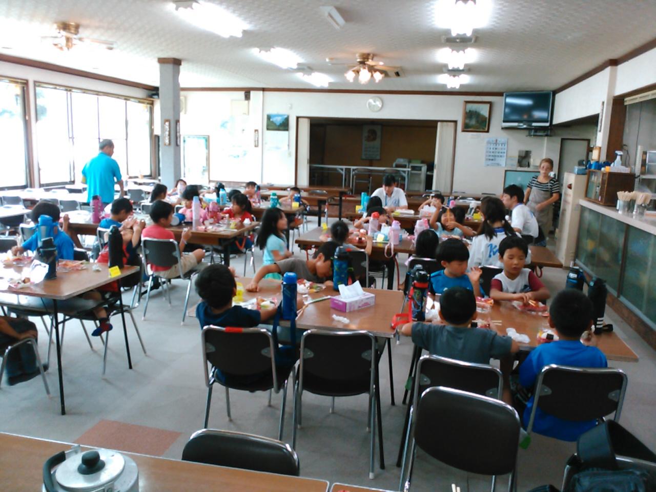 キャンプ三日目・昼食2