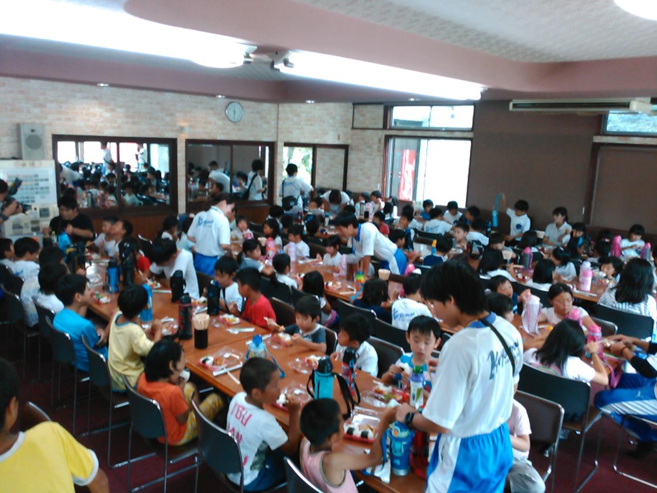 キャンプ三日目・昼食4