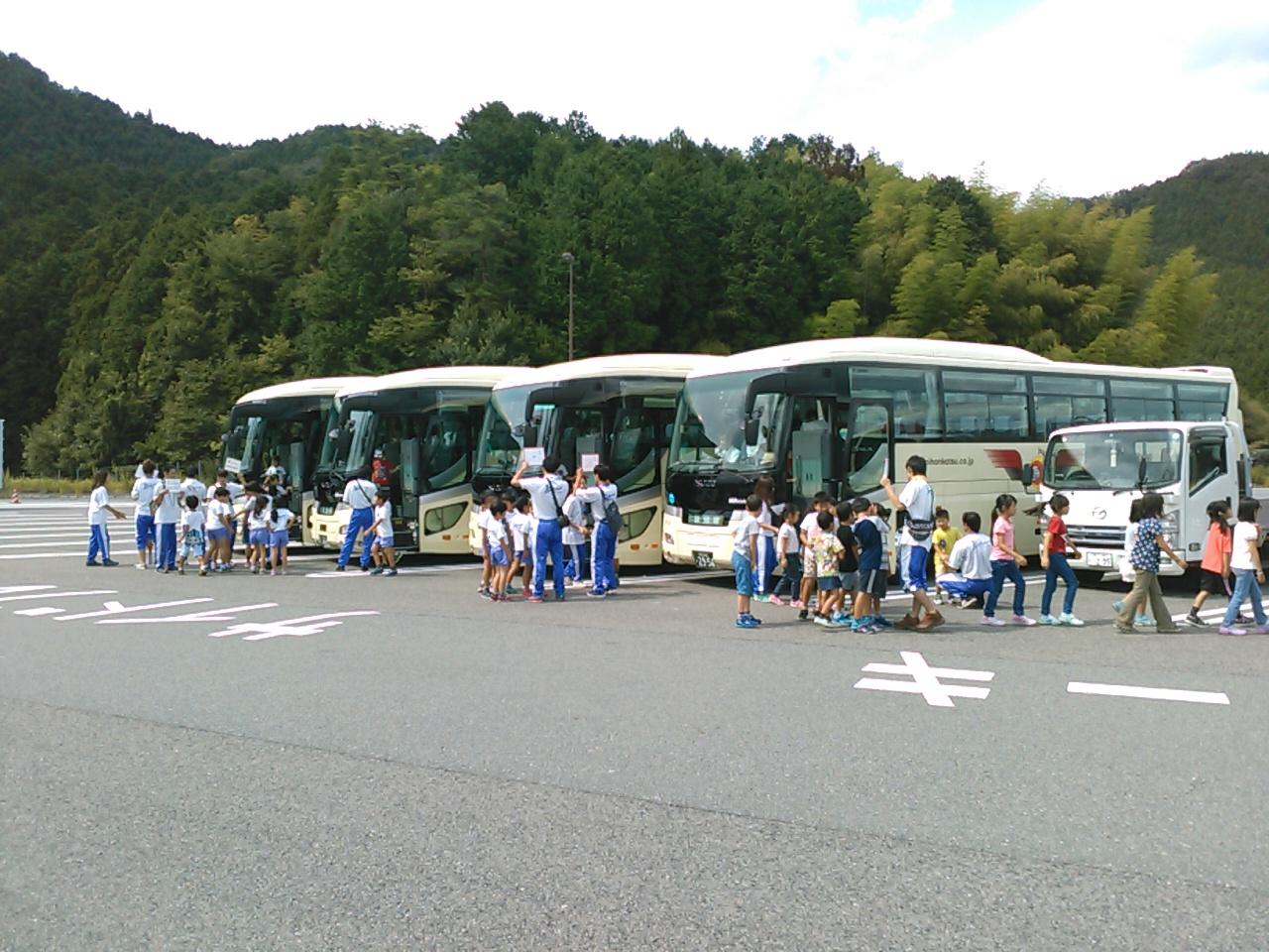 キャンプ三日目・トイレ休憩1
