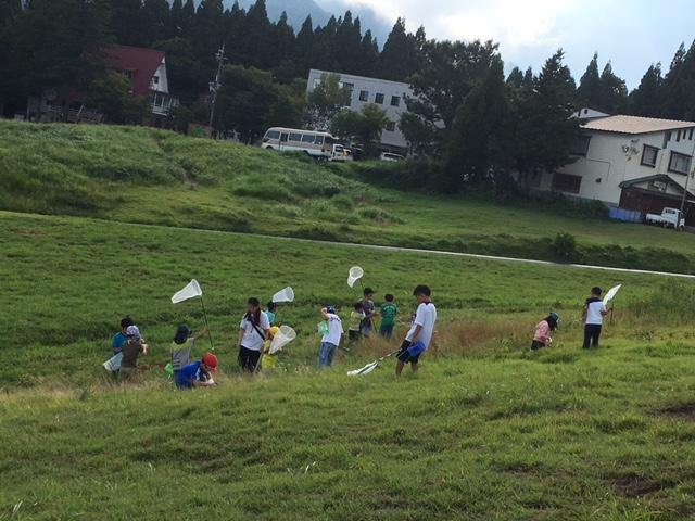 サマーキャンプ1日目・山遊び1