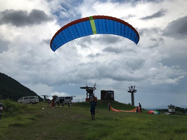 サマーキャンプ1日目・パラグライダー5