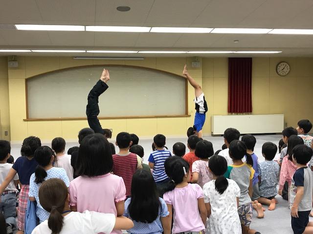 サマーキャンプ1日目・お楽しみ会1