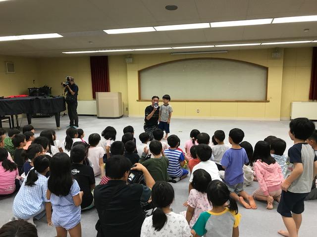 サマーキャンプ1日目・お楽しみ会2
