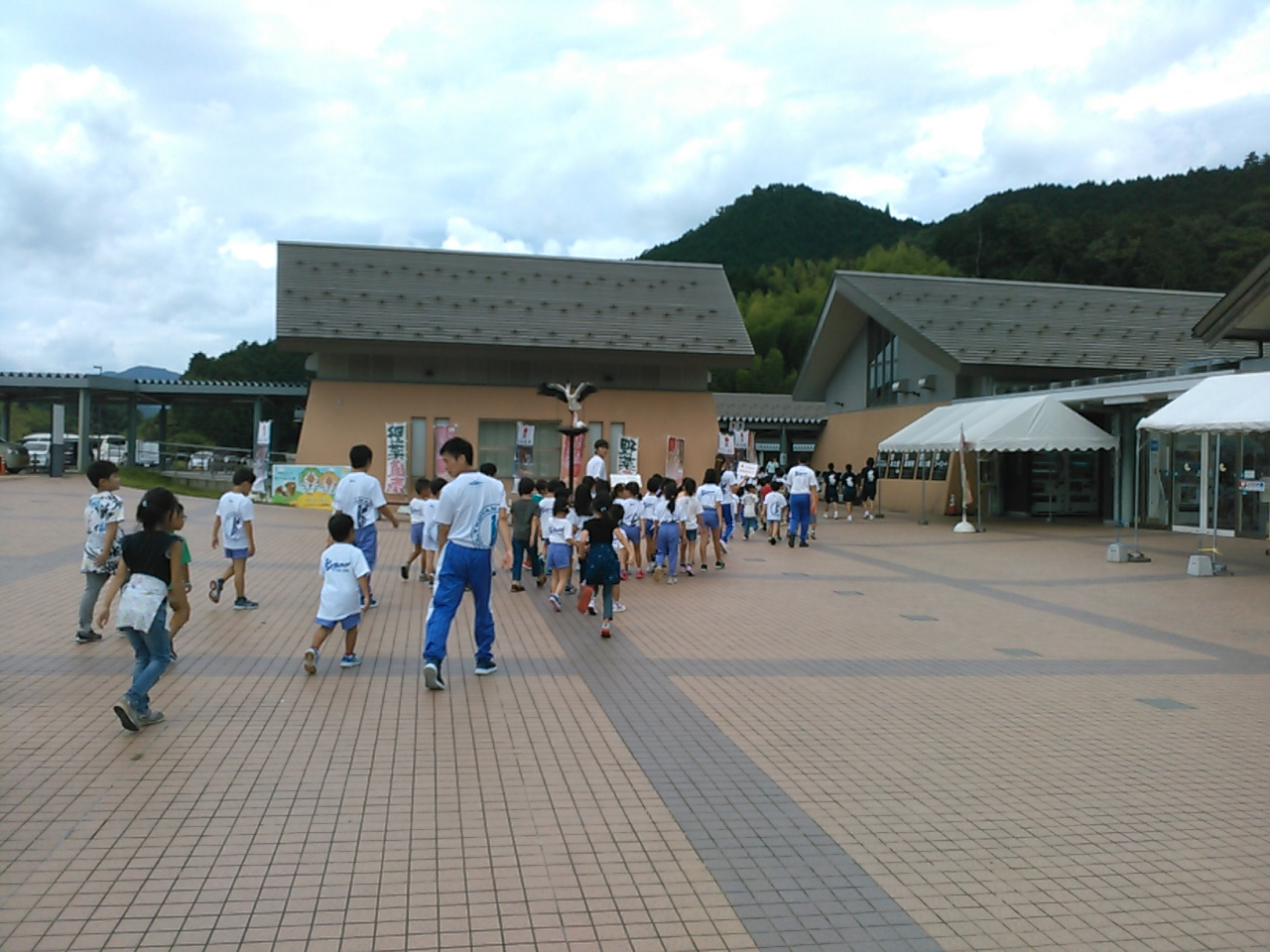 サマーキャンプ1日目・トイレ休憩2