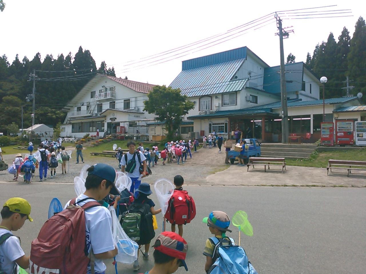 サマーキャンプ1日目・ハチ高原到着