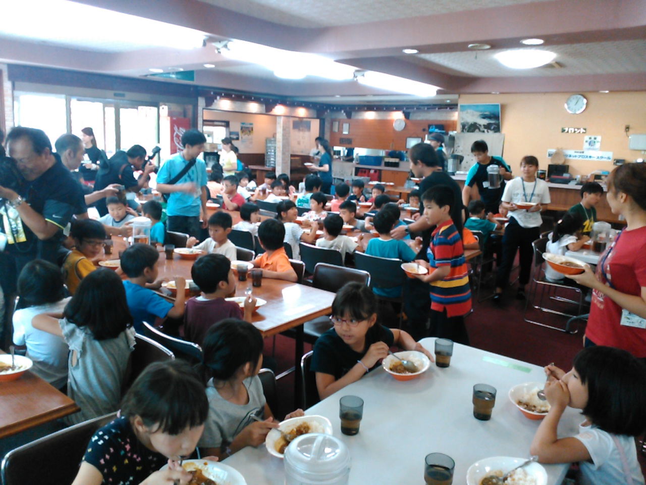 サマーキャンプ1日目・昼食2