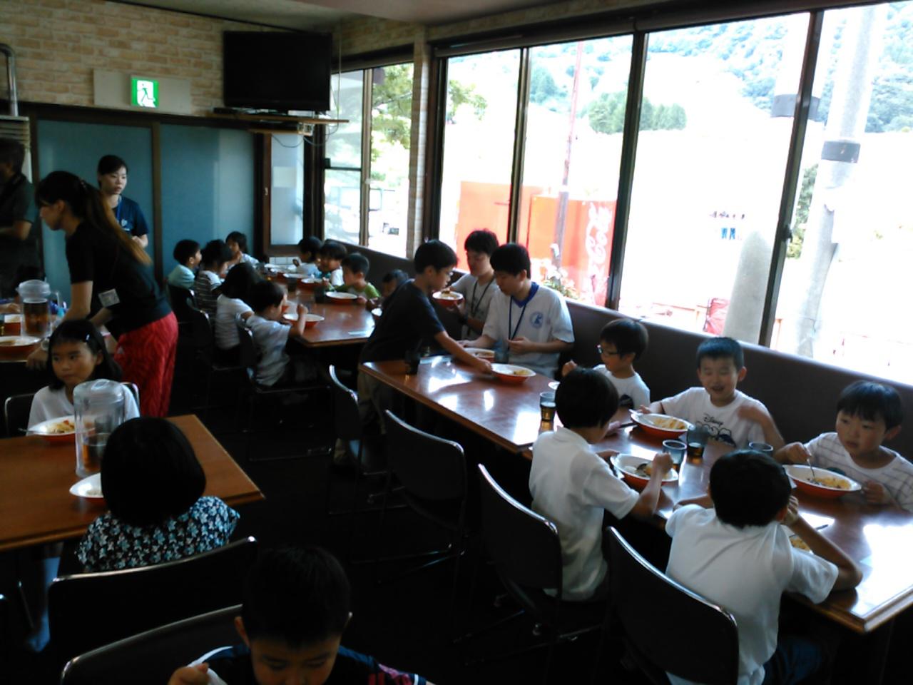 サマーキャンプ1日目・昼食3
