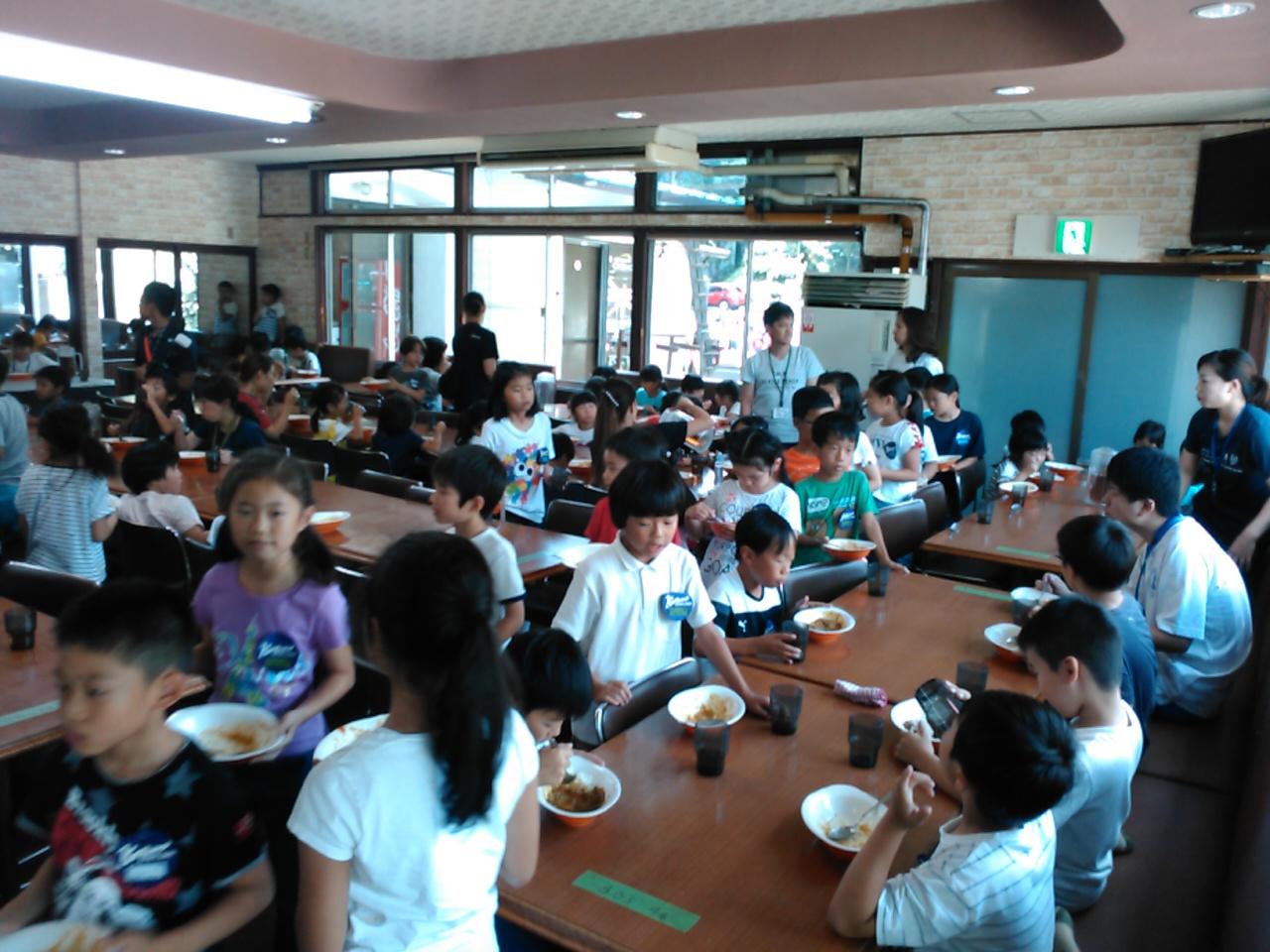 サマーキャンプ1日目・昼食4