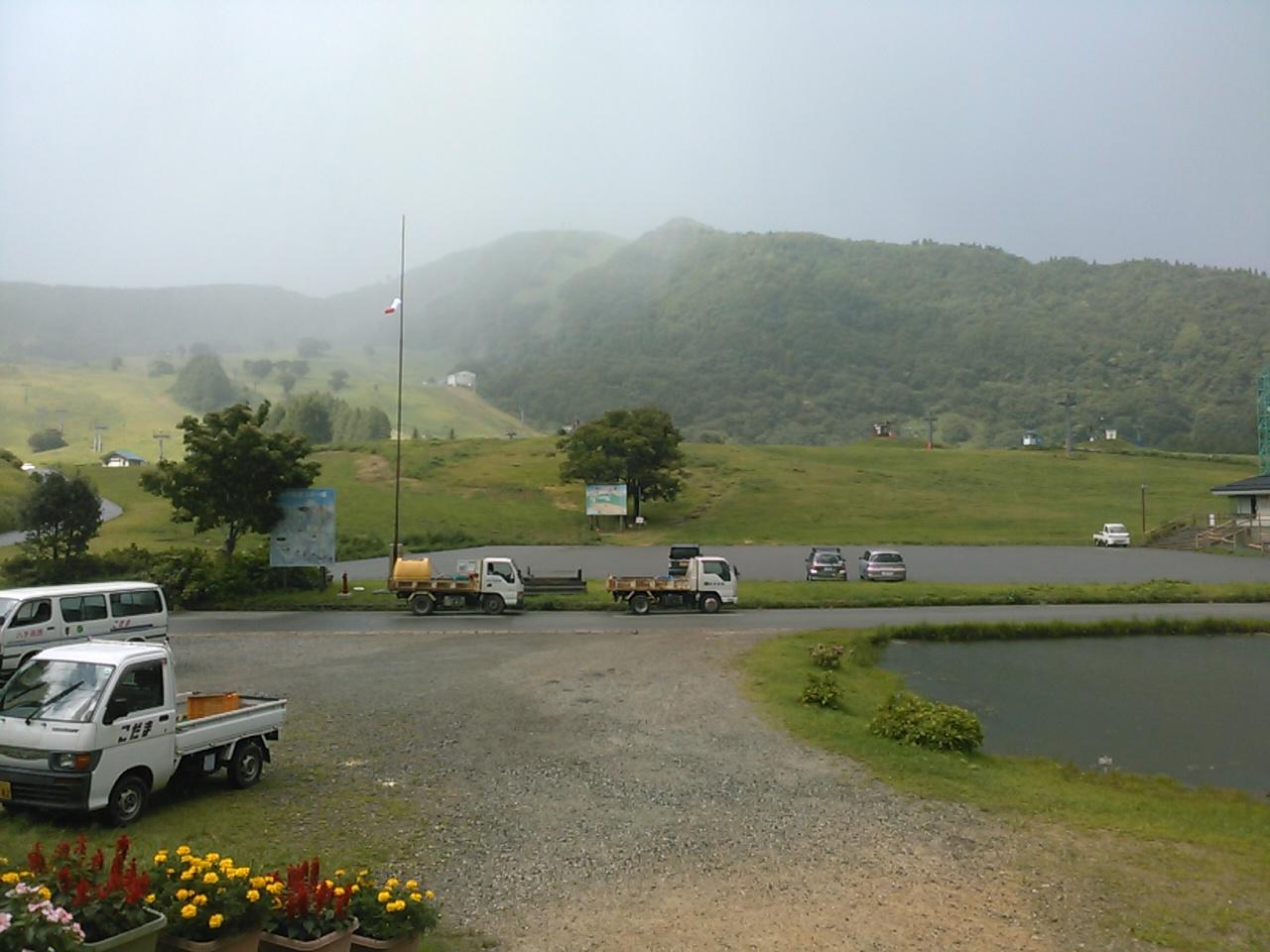 サマーキャンプ1日目・雨