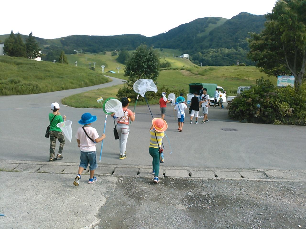 サマーキャンプ2日目午前・活動開始3