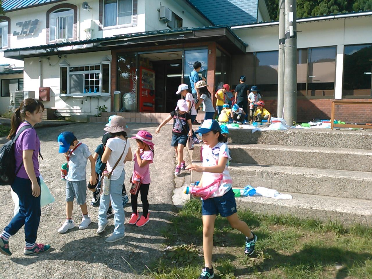 サマーキャンプ2日目午前・活動開始2