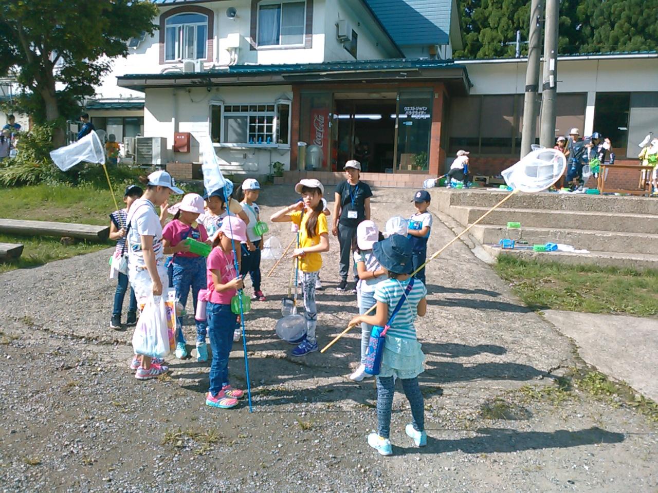 サマーキャンプ2日目午前・活動開始1