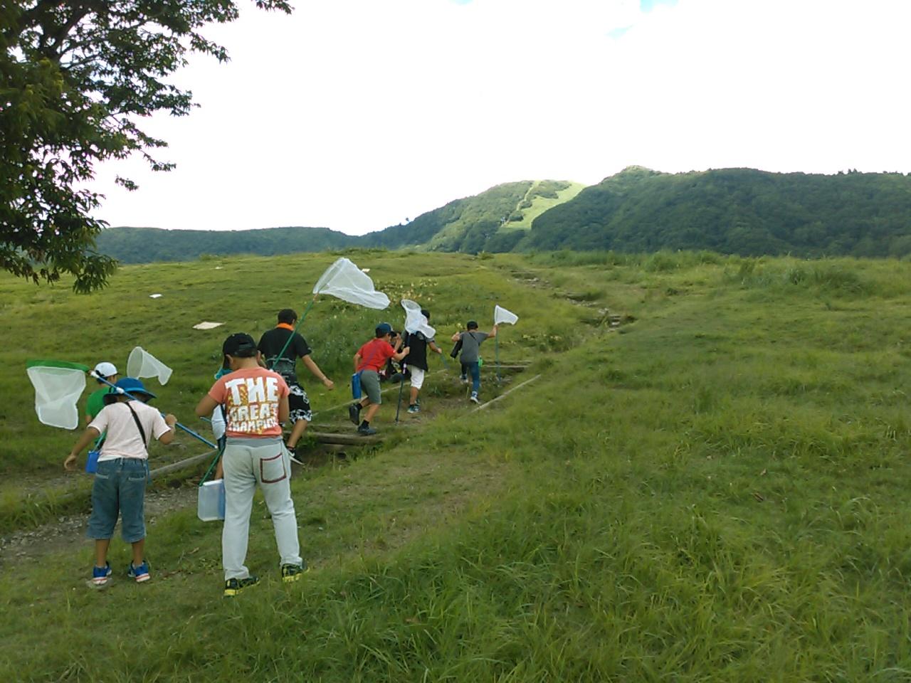 サマーキャンプ2日目午後・山遊び1