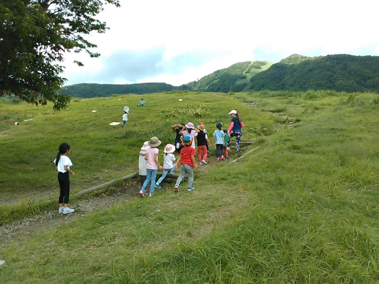 サマーキャンプ2日目午後・山遊び2