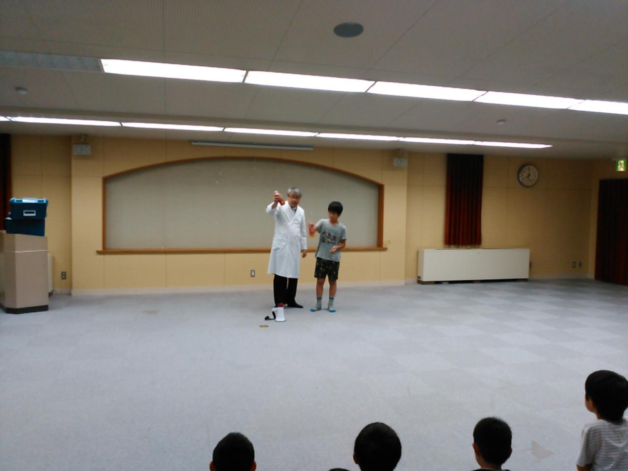 サマーキャンプ2日目・実験ショー2