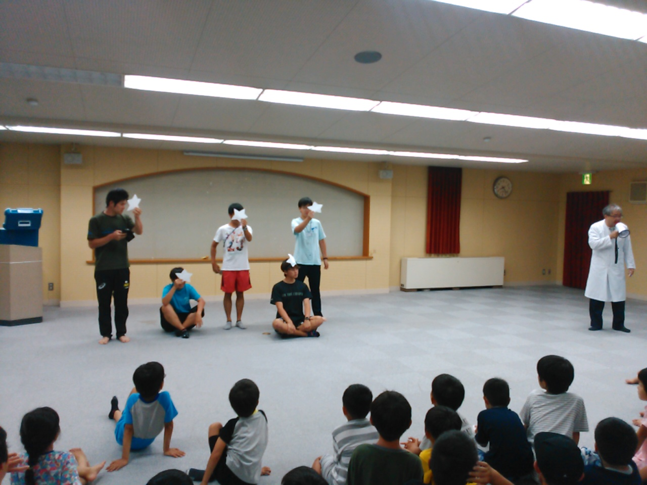 サマーキャンプ2日目・実験ショー3