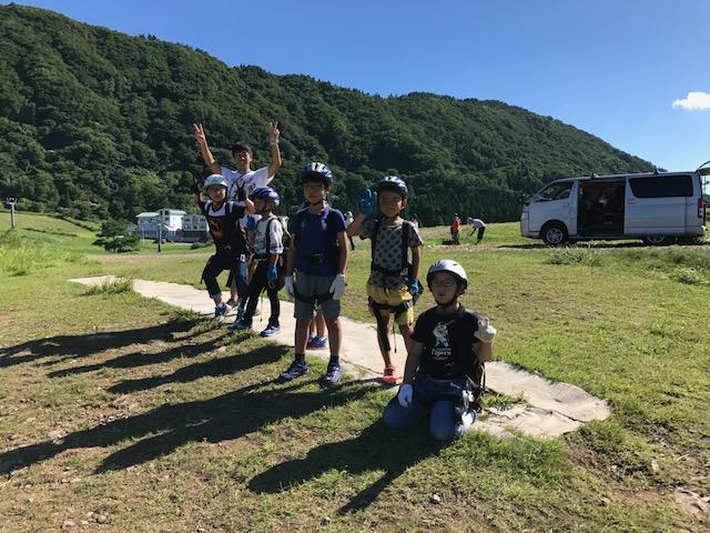 サマーキャンプ3日目・パラグライダー2
