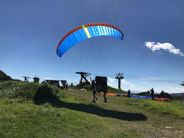 サマーキャンプ3日目・パラグライダー3