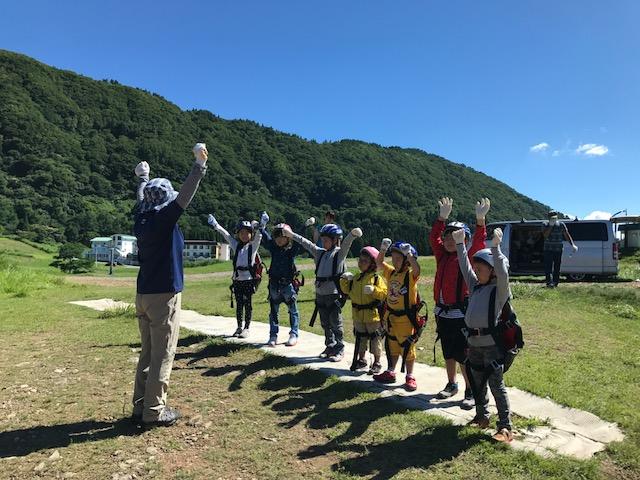 サマーキャンプ3日目・パラグライダー4