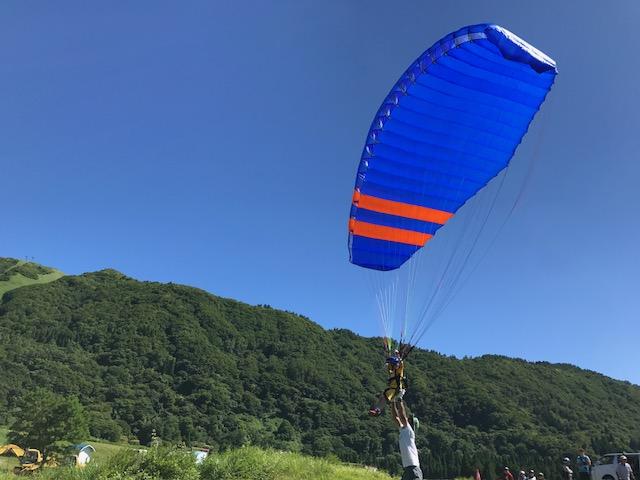 サマーキャンプ3日目・パラグライダー5
