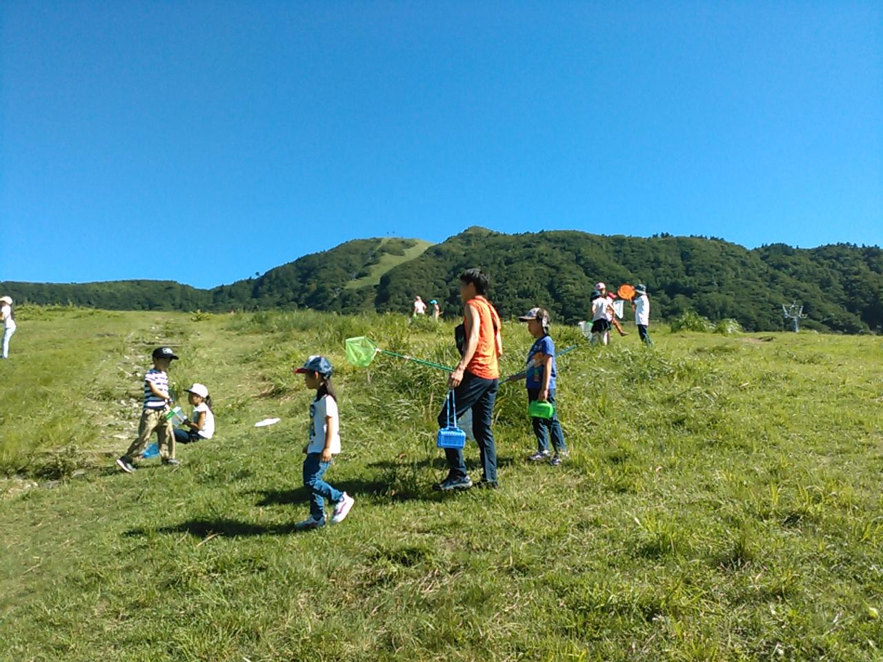 サマーキャンプ3日目・山遊び2