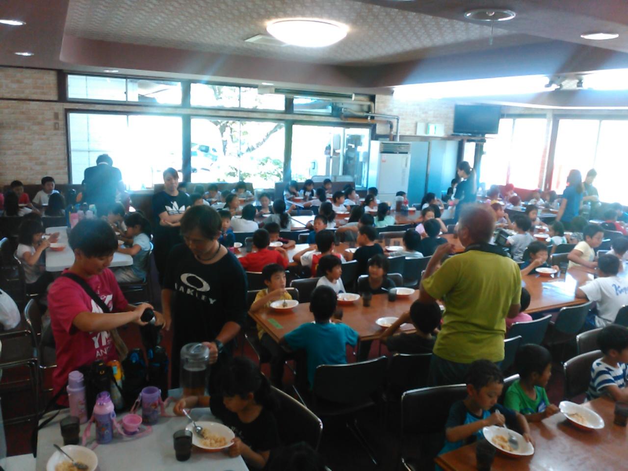 サマーキャンプ3日目・昼食1