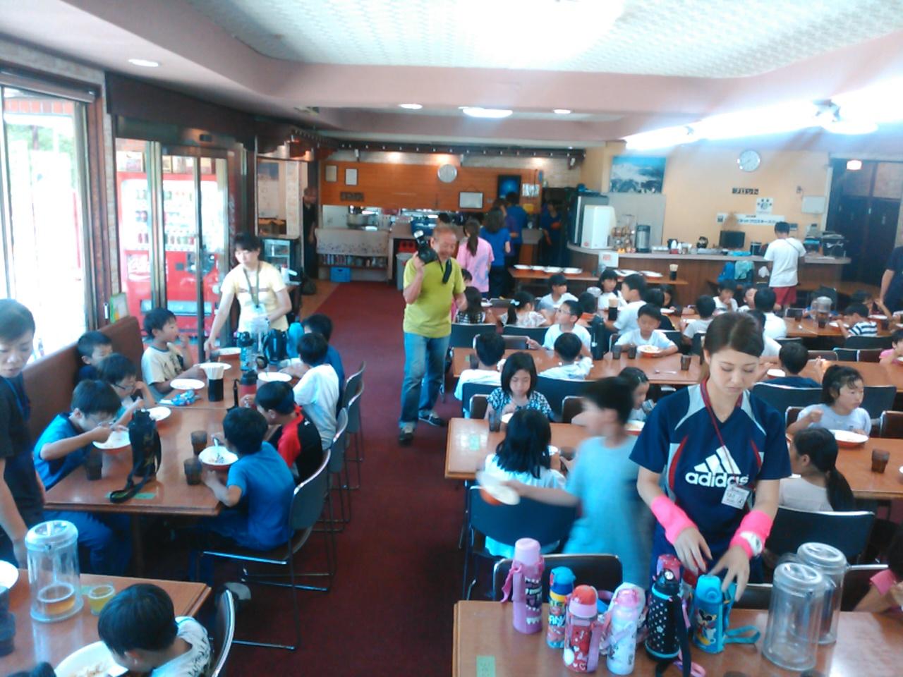 サマーキャンプ3日目・昼食2