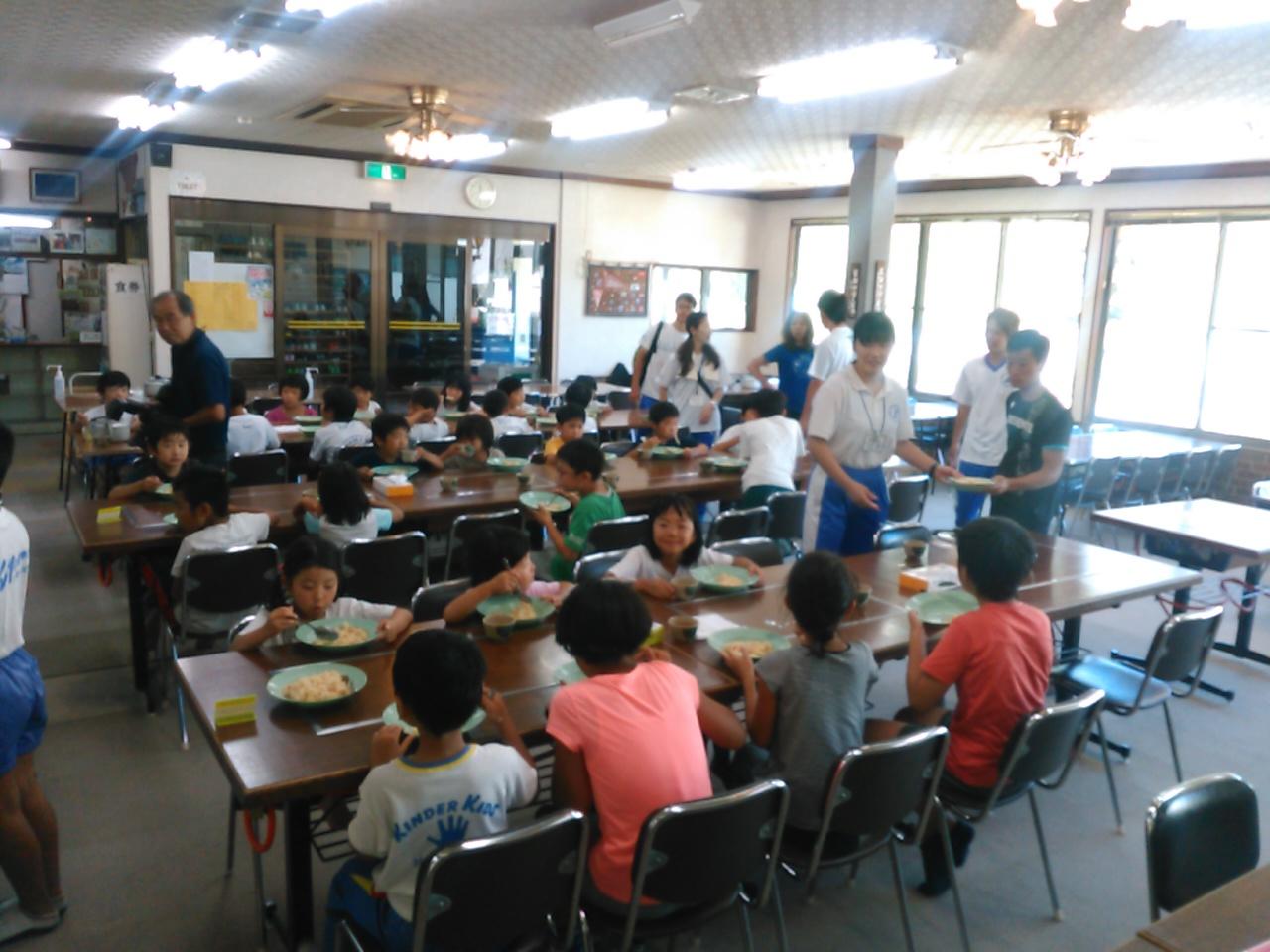サマーキャンプ3日目・昼食3