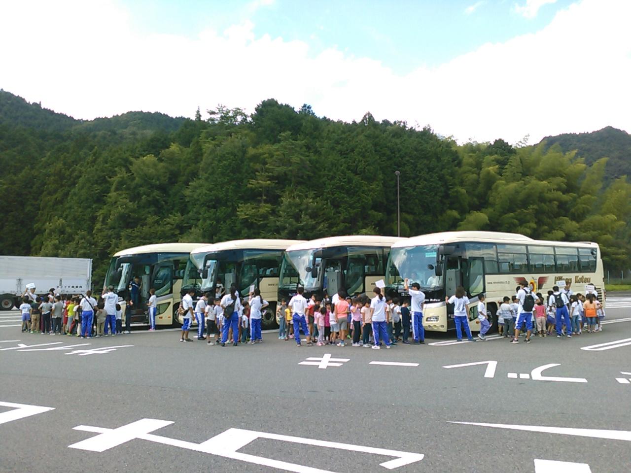 サマーキャンプ3日目・トイレ休憩1